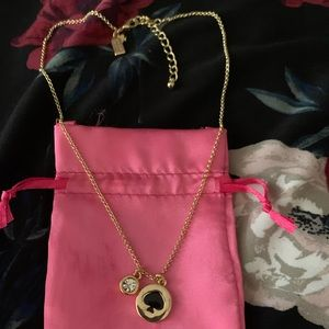 NEW KATE SPADE SPOT THE SPADE NECKLACE